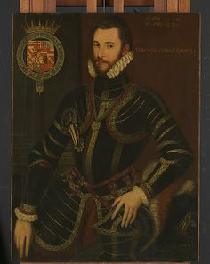 Walter Devereux (1539–1576), First Earl of Essex English Painter   Date:     1572 Culture:     British Medium:     Oil on wood Dimensions:     41 1/8 x 31 1/2 in. (104.5 x 80 cm)