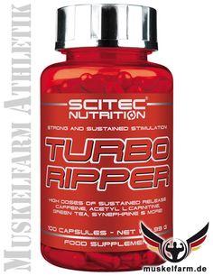Scitec Nutrition Turbo Ripper - starke und anhaltende Stimulation! #Fettabbau #Diät #Abnehmen #Körperfett #diet #Gewichtsreduzierung #fatburner