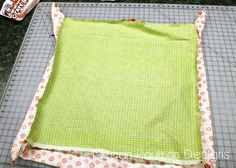 Cuddle Baby Or Minky Self Binding Receiving Blanket