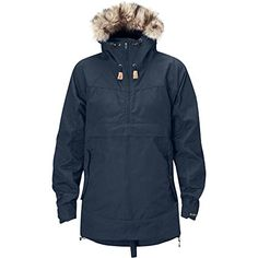 18d7cec7148a65 Fjallraven Iceland Anorak Womens Navy Large -- Want to know more