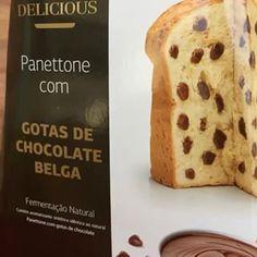🎅🏻 ho ho ho ... Tem novidade na linha Delicious DIA!  Panetone com Gotas de Chocolate Belga! hummm deve ser muito bom ... Doida para experimentar, depois conto! 😋 obrigada @diasupermercado, adorei!! #panetonedia #chocotonedia #diasupermercado #chocolatebelga #gotasdechocolatebelga #natal #presskit