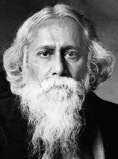 """Discover Rabindranath Tagore famous and rare quotes. Share inspirational quotes by Rabindranath Tagore and quotations about heart and joy. """"A teacher can never truly teach unless he. Rabindranath Tagore, Tagore Frases, Tagore Quotes, Calcutta, Indian Poets, Beautiful Verses, Nobel Prize In Literature, Rainer Maria Rilke, National Symbols"""