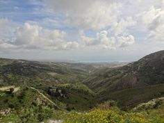 Looking down to Paphos - Cyprus