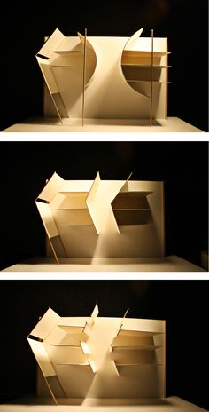 light study model | conceptMODEL  physical model, study, sketch, light, architecture, concept