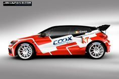 Today Belgian Rallycross ace Jochen Coox revealed the livery of his new VW Scirocco Mk3 SuperCar in the making, the design has been thought up by ERC24's Qba Ni