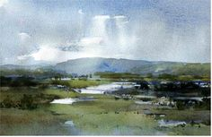 Watercolour landscapes - WetCanvas - Chris Robinson