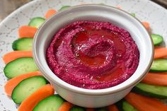 Beet Hummus by Miche