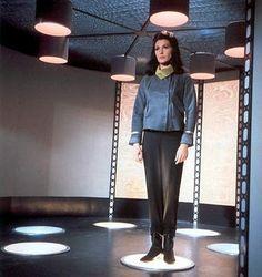 Number One, the first Lady of Star Trek, Majel Barrett. More logical than Spock, then, but eventually she became Lwaxana. Star Trek 1966, Star Trek Tv, Star Wars, Star Trek Voyager, Star Trek Generations, Star Trek Cosplay, Star Trek Episodes, Star Trek Images, Star Trek Characters