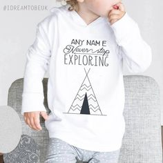 IT/'S A THING  BOYS HOODIE personalized HIPSTER GIFT CHRISTMAS SANTA KIDS NEW.