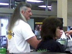 Business in the front, party in the back!