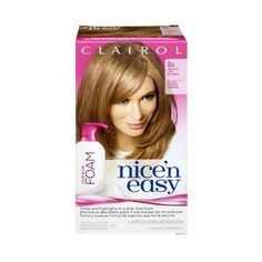 Clairol Nice 'N Easy 8A Medium Ash Blonde Permanent Haircolor, 1 CT (Pack of 3) * You can get more details by clicking on the image. (Amazon affiliate link)