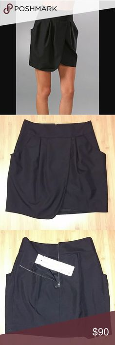 NWOT EVER 'Tunis' Tulip Skirt Size 29 Brand new, never worn EVER 'Tunis' tulip skirt in black. Size 29 EVER Skirts