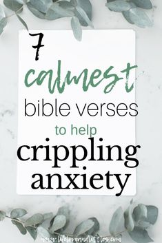7 Calmest Bible Verses To Help Crippling Anxiety Bible Verses and quotes to help Crippling Anxiety. Stop worrying and start overcoming fear!Bible Verses and quotes to help Crippling Anxiety. Stop worrying and start overcoming fear! Scriptures For Anxiety, Powerful Scriptures, Bible Scriptures, Bible Verses About Worry, Bible Verses About Anxiety, Bible Verses For Depression, Bible Verses For Women, Scripture On Worry, Christians