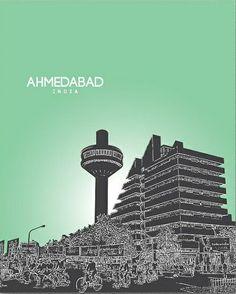 Ahmedabad, India Rishikesh, Varanasi, Agra, Taj Mahal, Tourist Places, City Photography, Ahmedabad, Ancient History, Cities