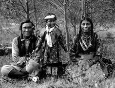 Canada Native family, c.1910