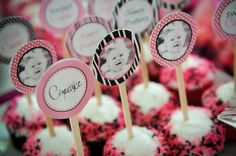 Wild Cupcake Zebra & PInkPrintable Standard Party by Dimpleprints, $10.00