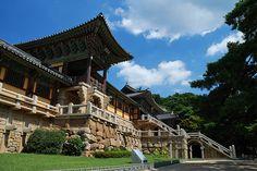 So many national/cultural treasures within this complex: Bulguksa Temple, Gyeongju, Korea