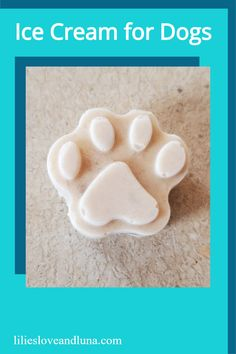 Ice cream for dogs is an easy to make frozen treat for your dog. 3 Ingredient Ice Cream, Greek Yogurt And Peanut Butter, Dog Ice Cream, Frozen Dog Treats, Peanut Butter Dog Treats, Dog Eyes, Chocolate Ice Cream, Dog Treat Recipes, Frozen Banana