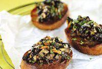 Bruschetta met knoflook en boschampignons recept | Solo Open Kitchen