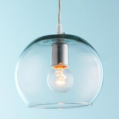 Young House Love Bubble Glass Pendant - Shades of Light