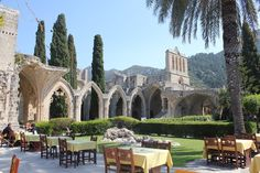 A picture of the Bellpais Abbey.