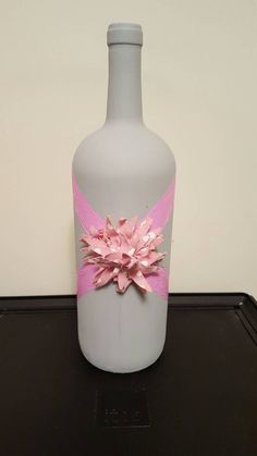 Check out this item in my Etsy shop https://www.etsy.com/listing/268015688/wine-bottle-decor
