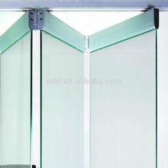 Best Ideas for folding glass door frameless Sliding Door Hardware, Sliding Glass Door, Sliding Doors, Wooden Door Hangers, Wooden Doors, Door Knockers Unique, Sliding Door Window Treatments, Old Barn Doors, Wardrobe Door Designs