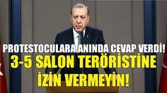 Erdoğan'dan Amerika'da Pankart Açan Teröristlere Anında Cevap | Rezil Ol...