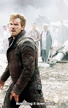 Peter Quill (gif) Yes.