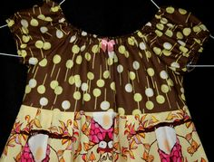 Owls and Trees oh my toddler dress