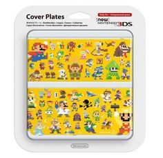 NEW Nintendo 3DS Cover Plate Kisekae plate No.067 Super Mario Maker Japan #Nintendo
