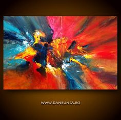GO 80x120cm or 32x48in acrylics on canvas for sale by danbunea, $590.00