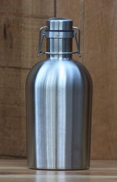 SS Growler Stainless Steel Beer Growler by PedalHappyDesign, $29.95