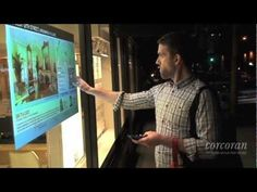Interactive window flyer. @Jan Fehlis corcoran Group has reinvented the real estate office window flyer.