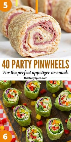 Mini Appetizers, Recipes Appetizers And Snacks, Finger Food Appetizers, Snack Recipes, Christmas Appetizers, Finger Foods, Crowd Appetizers, Pinwheel Appetizers, Bite Size Snacks