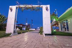 Photoshooting Vezalis Beach Bar Restaurant in Laganas resort, Zakynthos island