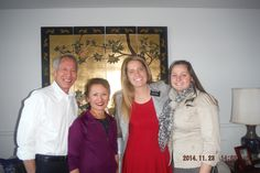 The Chongs (new Ward Mission leaders) with Sister Heaton and Sister Baldwin in Washington Tacoma Mission. Silverdale Area.  WATAC Mission. WE BELIEVE IN CHRIST.