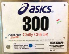 8th 5K - CHILLY CHILI.  January 26, 2014.  Cazenovia, NY.  Time 36:19min (11:42).