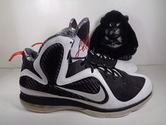 1100d141bf5 Men Nike Air James LeBron 9 IX Freegums Basketball shoes size 15 US 469764- 101
