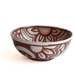 Synkeran bowl of Ghenos Majolica little bowl, Synkeran series.