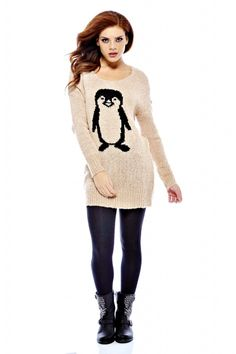 """Penguin Sweater-literally said """"omg I want that"""" out loud ❤❤❤❤❤❤❤❤❤"""