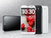 A LG divulgou, apenas alguns dias após revelar um teaser com seus possíveis lançamentos na Mobile World Congress 2013 (MWC), as primeiras imagens do seu 'phablet', o LG Optimus G Pro, com display curvo de 5, 5 polegadas.