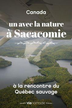 À la rencontre des ours et des castors dans l'immense domaine forestier de Sacacomie. Puis embrasser ses innombrables lacs du ciel... Une escapade inoubliable en nature, au Québec!