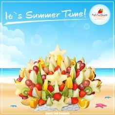 Fresh fruit bouquets for hot days!    Świeże bukiety owocowe na gorące dni!  #fruitbouquets #yummy #fruits #bukietyowocowe