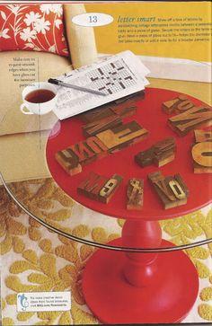 """Decorando!: Algunas ideas de la revista """"100 ideas Flea Market Style"""""""