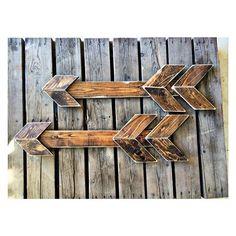 Wooden Arrows.. by ArtByKelly1 on Etsy, $45.00