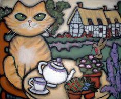 "Laura Strane ""tea time"""