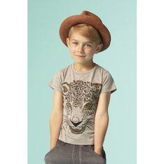 www.fishonthemoon.com - Soft Gallery - T-Shirt-Leopard