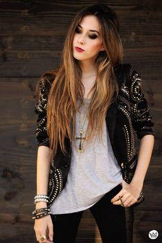 Look Du Jour : Black & Gold by Fashion Coolture