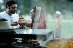 This is so cute and original! Photo by Lollipop & Laddu (gol gappa bar/gol gappa stand/pani puri stand) Unique Wedding Poses, Unique Weddings, Pakistani Wedding Photography, Classy Couple, Pakistani Bridal Wear, South Asian Wedding, Desi Wedding, Big Day, Wedding Inspiration